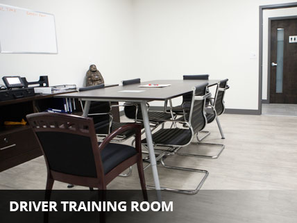 DRIVER TRAINING ROOM