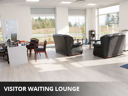 VISITOR WAITING LOUNGE